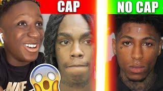 RAPPERS WHO CAP VS RAPPERS WHO NEVER CAP!