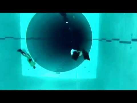 apneia menos 40 metros piscina mais funda do mundo youtube