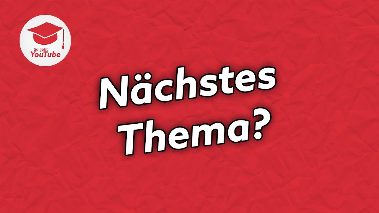 welches Thema
