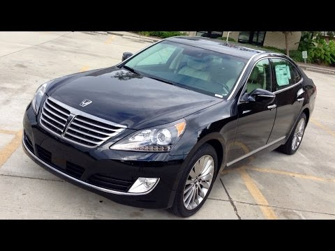 2015 Hyundai EQUUS Ultimate Full Review, Exhaust, Interior Exterior