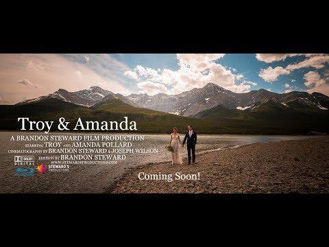 Troy & Amanda's Sneak Peek   Silvertip Resort Canmore Alberta