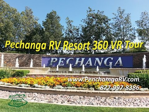 Pechanga RV Resort Temecula California CA - 360 VR Tour