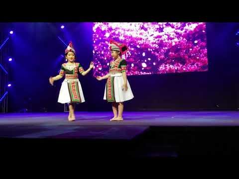3/29/19 Murrayville Elementary School Talent Show-Hmong Dance