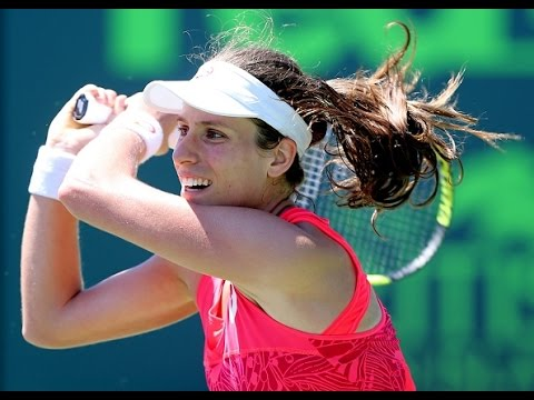 2017 MIami Open Quarterfinals | Johanna Konta vs Simona Halep | WTA Highlights