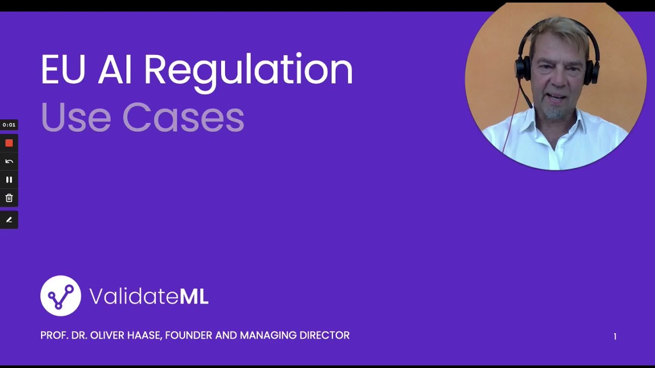 🔝 Kick off of our 🆕 series: AI Use Cases in collaboration with our partner Validate ML