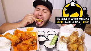 Buffalo Wild Wings MUKBANG Video