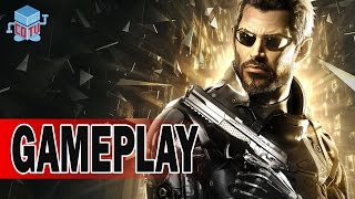 Deus Ex Mankind Divided Gameplay Prague Exploration