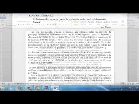 Insertar Notas al Pie y Citas de YouTube · Duración:  6 minutos 21 segundos