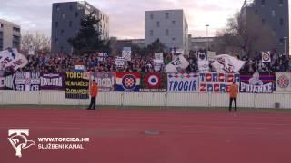 Torcida Split / RNK Split - Hajduk Split 1:1 (21. kolo MAXtv Prva Liga)