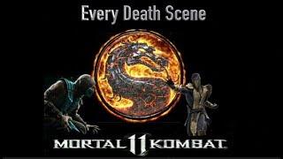 All Death Scenes In Mortal Kombat 11 + All Alternate Endings