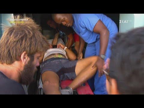 Survivor 2019 | Τραυματισμός Hikmet | 19/05/2019