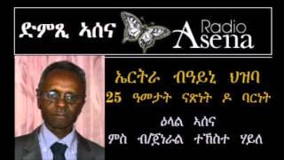 Voice of Assenna: Eritrea 25 Years on - Intv B/General Tekeste Haile