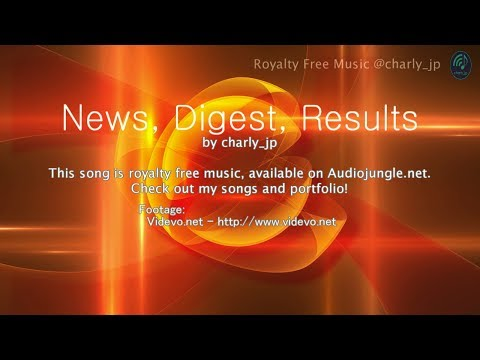 Preview: 'News, Digest, Results' - Royalty Free Music(Audiojungle)