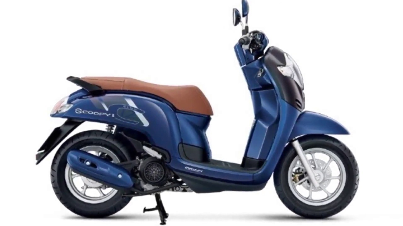 Modifikasi Motor Honda Scoopy 2018 Modifikasi Motor