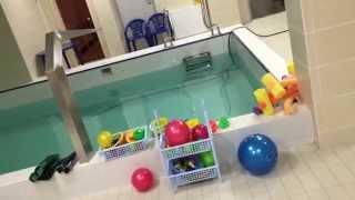 Наш новый бассен -Обучение плаванию в бассейне в Минске для детей (Курсы,Секция,занятия)