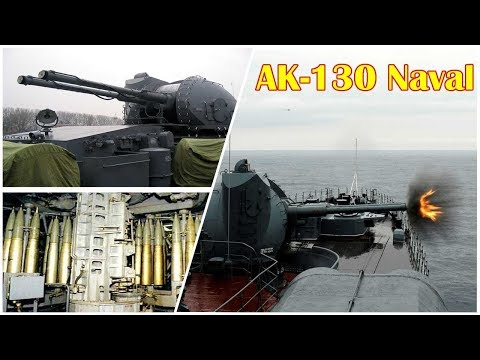 Russia's AK-130 Naval 'Cannon' Could Kill a Navy Destroyer or a 'Swarm'