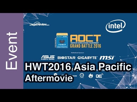 Official Aftermovie - HWBOT World Tour 2016 - Asia Pacific