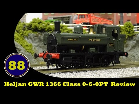 Heljan GWR 1366 Class 0-6-0PT Review