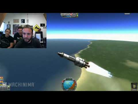 WE FAIL the Kerbal Space Program - GAME PLAY! |
