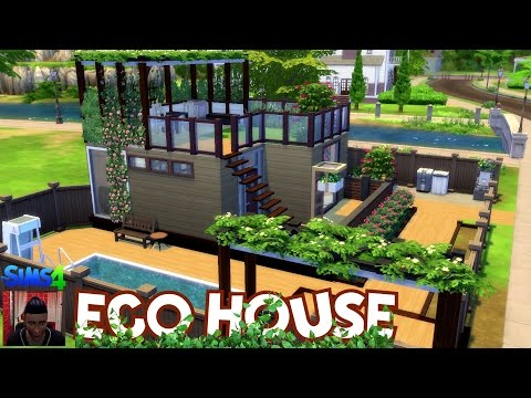 The Sims 4 House Building – ECO House