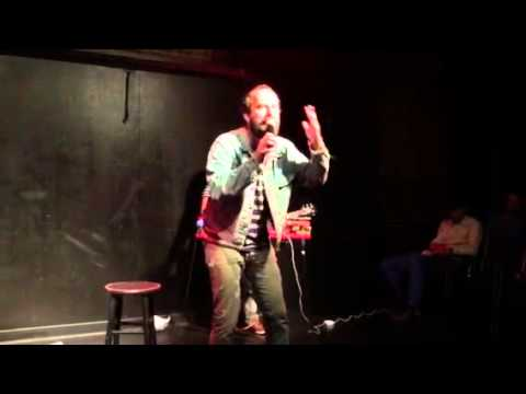 Brett Gelman freaks out on UCB stage PART 1