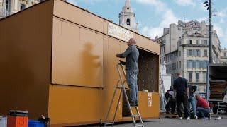 Marseille : sur le Vieux Port, les santonniers préparent la foire tant attendue