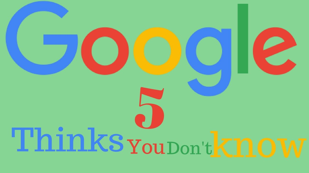 Google underwater mr doob - 5 Things You May Don T Know About Google