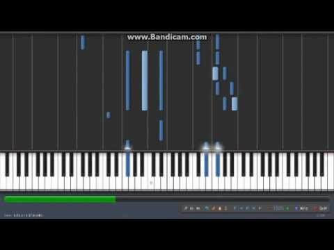 Synthesia - Lucky Star: Shiawase Negau Kanata Kara (piano)