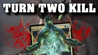 Turn 2 Kill in Modern - Neoform Combo is Broken - War of the Spark - PK's Slow Plays