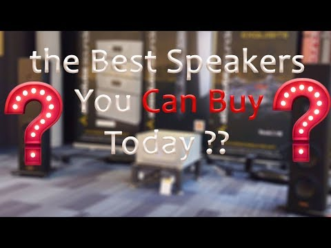 The Best Speakers you Can Buy Today in Our Opinion Are  ...