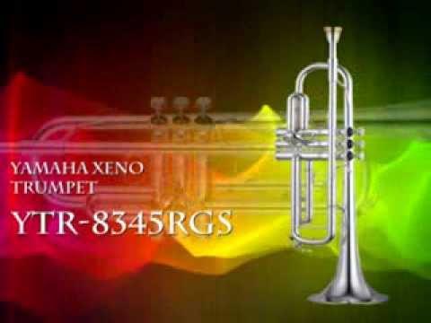 YAMAHA YTR 8345RGS PROFESSIONAL Bb XENO TRUMPET,  462
