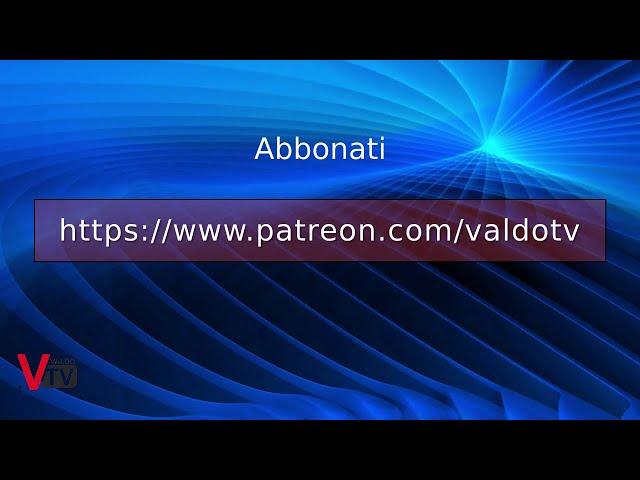 Al via gli abbonamenti a ValdoTv