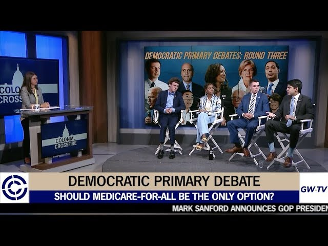 Colonial Crossfire Season 10 Premiere: The Democratic Primary Debate, Gun Control, and more