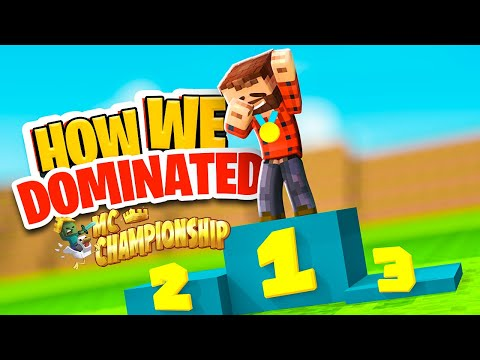 The Game We DOMINATED (MINECRAFT CHAMPIONSHIP)