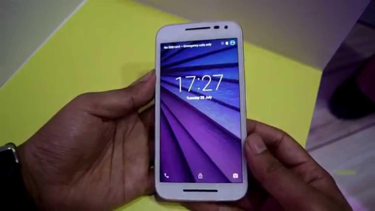 Motorola Moto G 3rd Generation Hands-on Review. Display ...