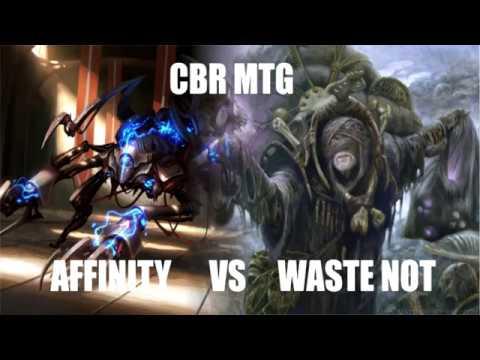 CBR MTG - MODERN: Angus McKay (Affinity) vs Ashleigh Johannes (Waste Not)