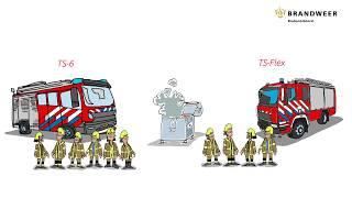 Flexibel uitrukken bij Brandweer Brabant-Noord