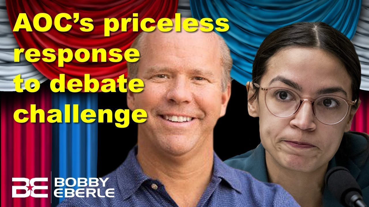 AOC challenged to debate Medicare-for-all; Her response is priceless! Biden gaffes again? | Ep. 66