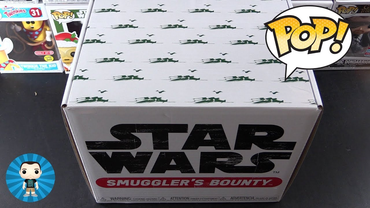fast delivery Dagobah Theme Funko Star Wars Smuggler/'s Bounty Box In hand