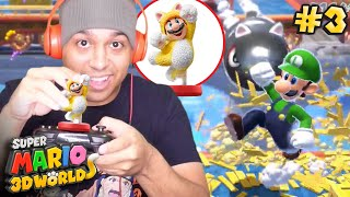 WE CHEATING THE SYSTEM WITH THESE!! [SUPER MARIO 3D WORLD] [#03]