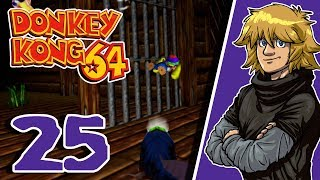 Let's Replay Live Donkey Kong 64 [German][#25] - Hinab ins Wrack!