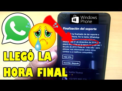 Windows 10 Mobile En 2020 Se Puede Seguir Usando Sin Whatsapp 🤔
