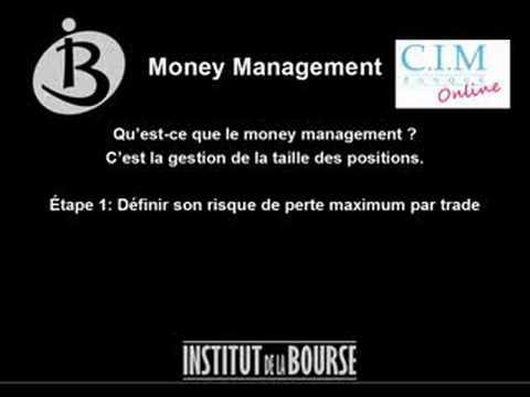 Regles de money management forex