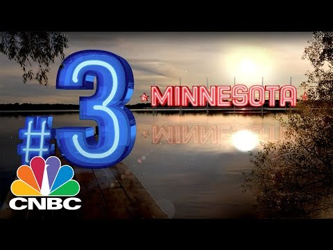 Minnesota Ranks 3rd In America's Top States For Business | CNBC