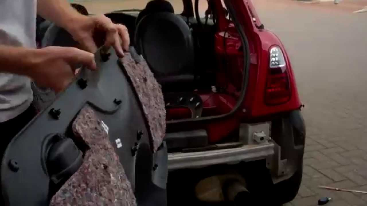 hight resolution of how to remove the rear tailgate trim to access wiper motor on bmw mini