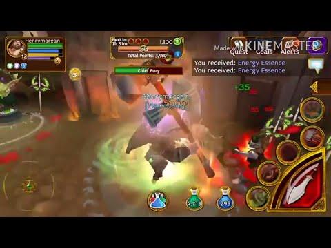 Arcane Legends - (Goblin Event ) Reaching Plat Tier!