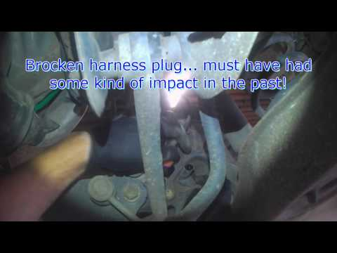 VW A5: Rear ABS Wheel Speed Sensor replacement