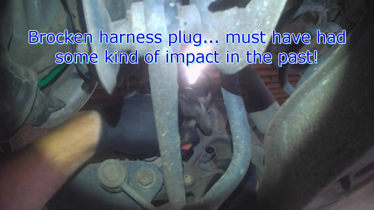 Vw A5 Rear Abs Wheel Speed Sensor Replacement Youtube Ac Compressor Wiring Plug Pigtail 9299 Jetta Golf Gti Passat