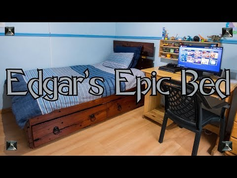 Edgar's Epic Bed
