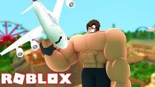 I JOINED THE ACADEMY i WAS 1 000 000 X stronger IN ROBLOX (Lifting Simulator)